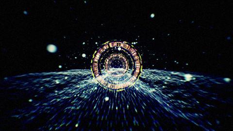Warp Tunnel 01 d 1 ภาพเคลื่อนไหว