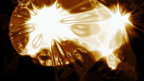 Golden Light Video Background 1432 Animation