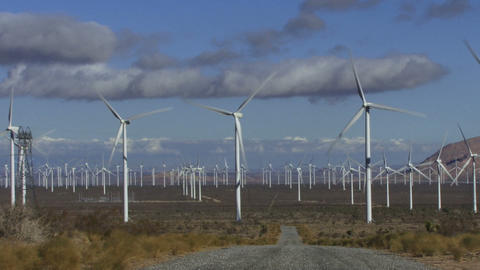 Wind Turbines 3002 Footage