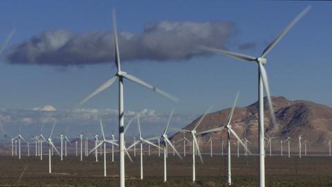 Wind Turbines 3004 Footage