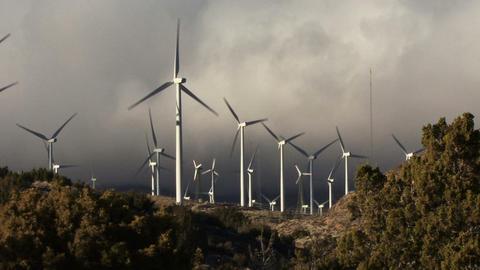 Wind Turbines 3007 Footage