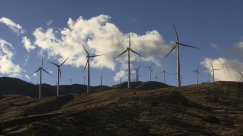 Wind Turbines 3005 Footage