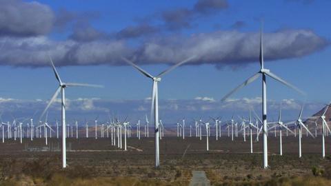Wind Turbines 3010 Footage