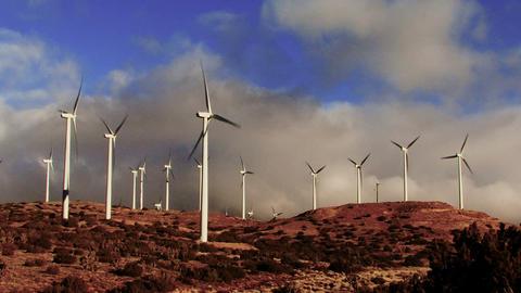Wind Turbines 3012 Footage