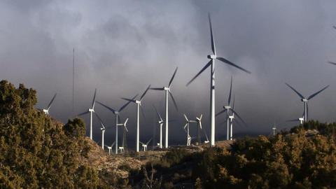 Wind Turbines 3013 Footage