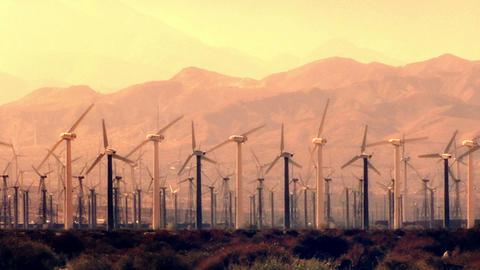 Wind Turbines 3016 Footage