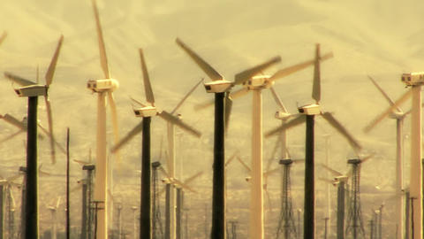Wind Turbines 3021 Footage