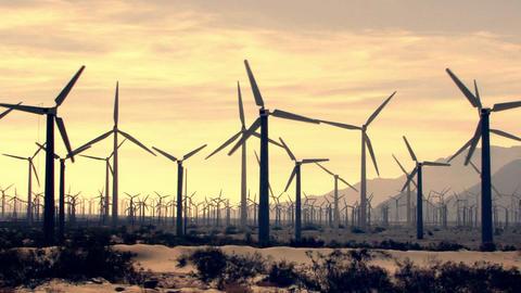 Wind Turbines 3023 Footage