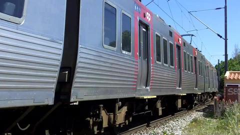 Train Close Pass Footage