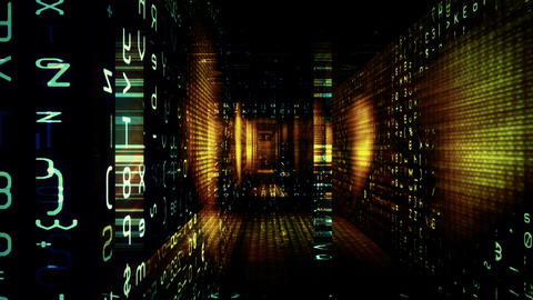 Data Maze Video Background 1471 Animation