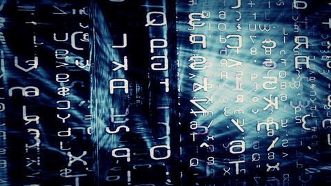 Data Maze Video Background 1479 Animation