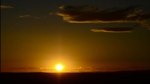 4K Golden Sunrise Timelapse Footage