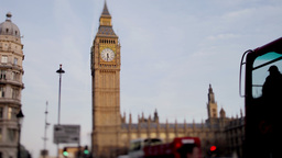 Big Ben And Parliament London UK 4k stock footage