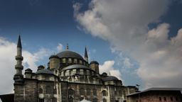 yeni cami mosque istanbul turkey 4k Footage
