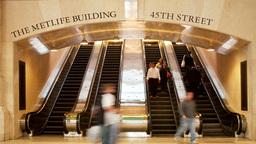 new york grand central station escalators manhattan Footage
