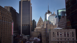 new york manhattan skyline usa Footage