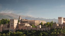 alhambra granada timelapse 4k Footage