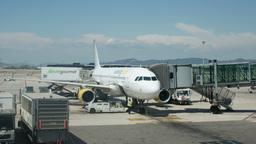 Bcn Flight4k00 stock footage