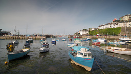 Brixham Tide 4k 00 stock footage