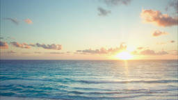 Cancun Sunrise 4k 0 stock footage