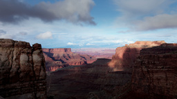 amazing rock structures at canyonlands utah usa Footage