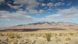 mountain range in death valley, california Footage