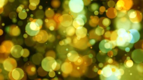 Defocused Yellow Lights Animation