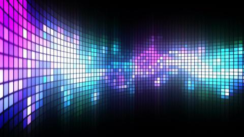 Green LED Dance Lights Wall Animation
