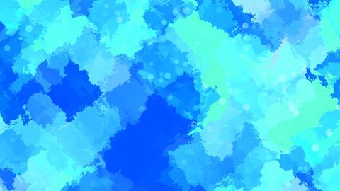 Bluish Water colors Stock Video Footage
