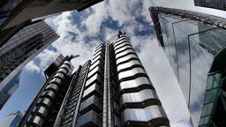 lloyds building london england Footage