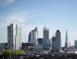 london city tilt shift4k02 Footage