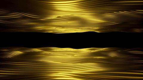 Gold Sea sideways 01 Animation