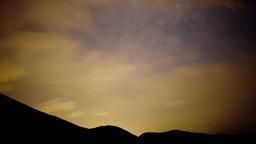 starlapse mountains full moon 4k Footage