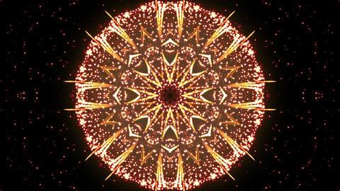Fireworks Kaleidoscope Ah 4k stock footage