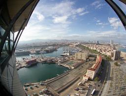 torre altamar barcelona Footage