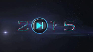 Play New Year stock footage