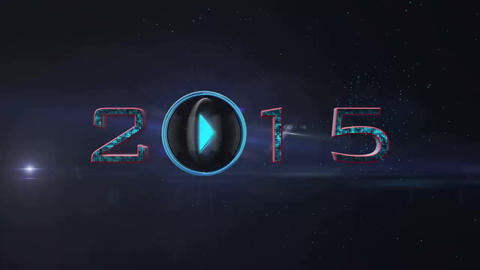 Play New Year After Effects Template