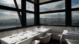 luxury restaurant in barcelona 4k Footage