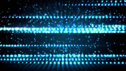 Blue Glitter Streaks Animation