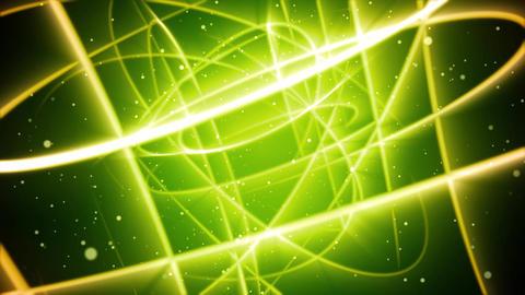 Green Streaks Space Animación