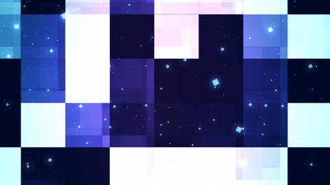 Cool Reflected Panels Animation