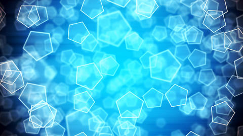 Frozen Depth Shapes Animation