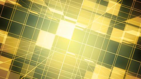 Golden Broadcast Grid CG動画素材