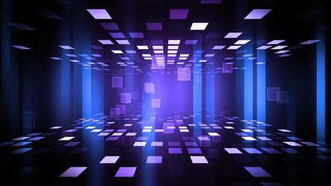 Night Club Dance Floor stock footage