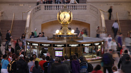 Grand Central NY 003 stock footage