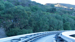 Hollywood Hills Tram video Twixtor Footage