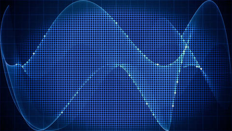 digital technology motion graphic background loop Animation