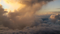 2011 Above Clouds 1 stock footage
