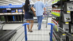 2011 Shopping Cart stock footage