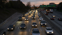 2013 Freeway Traffic 10 TL 13 Footage